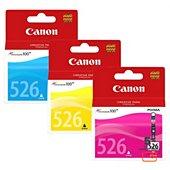 Cartouche d'encre Canon CLI526 (C/M/J)