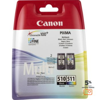 Canon Pack PG510/CL511