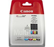 Cartouche d'encre Canon CLI551 N/C/M/J