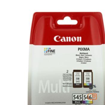 Canon Noire 545 + Couleur 546