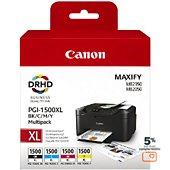 Cartouche d'encre Canon PGI 1500XL (N/C/M/J)