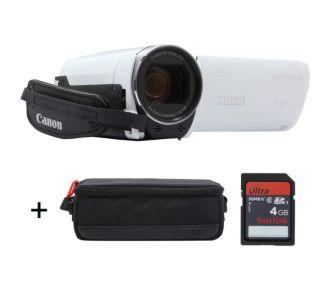 Canon HF R706 blanc + Etui + SD 4Go