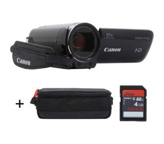 Canon HF R706 noir + Etui + SD 4Go