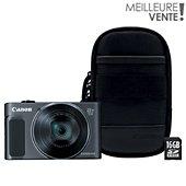 Appareil photo Compact Canon SX620 HS Noir + Etui + SD 16Go 49520a7e7e63