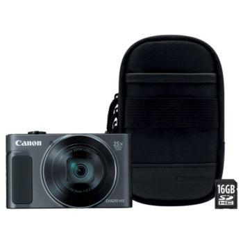 Canon SX620 HS Noir + Etui + SD 16Go