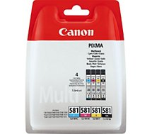 Cartouche d'encre Canon  CLI581 (N/C/M/J)