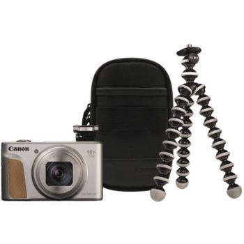 Canon PowerShot SX740 HS Argent+Trepied+Housse