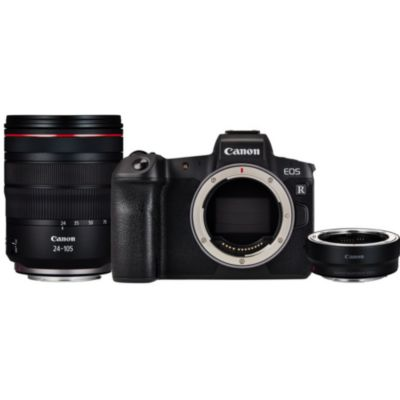 Location Appareil photo Hybride Canon EOS R + Bague + RF 24-105mm f/4L IS USM