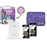 Imprimante photo portable Canon  Kit Zoemini Blanche+50 feuilles+Housse