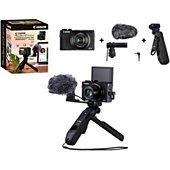 Appareil photo Compact Canon G7X Mark III Noir+Kit vlog