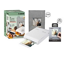Imprimante photo portable Canon  Pack QX10 + 20 feuilles + Coffret