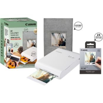 Canon Pack QX10 + 20 feuilles + Coffret