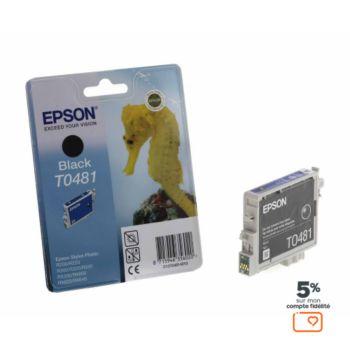 Epson T0481 Noire série Hippocampe