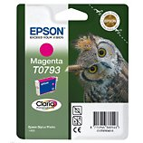 Cartouche d'encre Epson  T0793 Magenta série Chouette