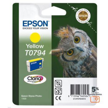 Epson T0794 Jaune série Chouette