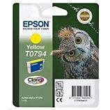 Cartouche d'encre Epson  T0794 Jaune série Chouette