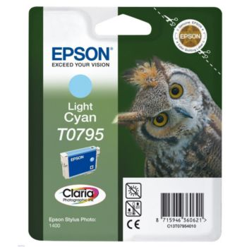 Epson T0795 Cyan Clair série Chouette