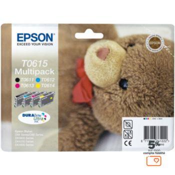 Epson T0615 N/C/M/J série ourson