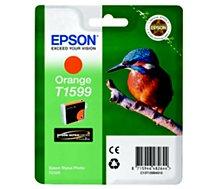 Cartouche d'encre Epson  T1599 Orange série Martin Pêcheur