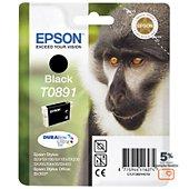 Cartouche d'encre Epson T0891 Noire série Singe