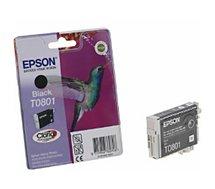 Cartouche d'encre Epson  T0801 Noire série Colibri