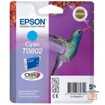 Epson T0802 Cyan série Colibri