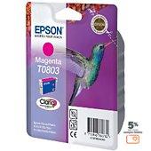 Cartouche d'encre Epson T0803 Magenta série Colibri