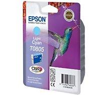 Cartouche d'encre Epson  T0805 Cyan Clair série Colibri