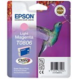 Cartouche d'encre Epson  T0806 Magenta Clair série Colibri