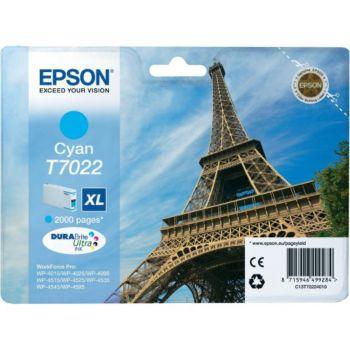 Epson T7022 XL Cyan Série Tour Eiffel