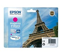 Cartouche d'encre Epson T7023 XL Magenta Série Tour Eiffel