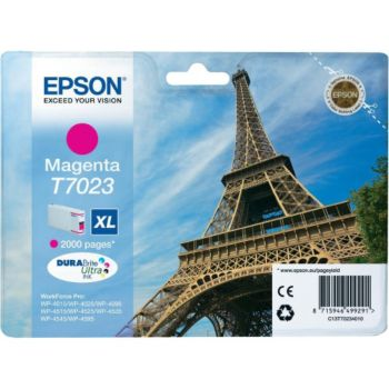 Epson T7023 XL Magenta Série Tour Eiffel