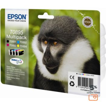 Epson T0895 (N C M J) série Singe
