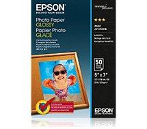 Papier photo Epson  glacé 200g 13x18 50feuilles