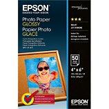 Papier photo Epson  glacé 200g 10x15 50feuilles