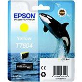 Cartouche d'encre Epson T7604  jaune Orque