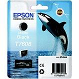 Cartouche d'encre Epson  T7608 noir mat Orque