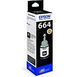 Cartouche d'encre Epson  Ecotank Bouteille Noir T664
