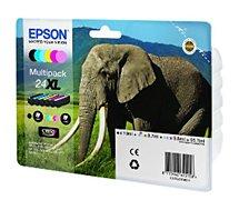 Cartouche d'encre Epson  N°24 XL Pack 6 cartouches