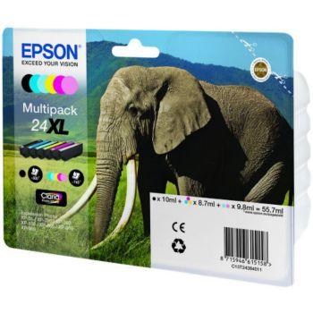 Epson N°24 XL Pack 6 cartouches