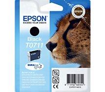 Cartouche d'encre Epson  T0711 Noire série Guépard