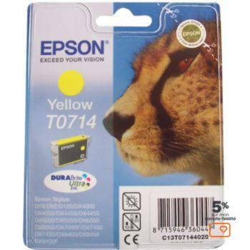 Epson T0714 Jaune série Guépard