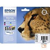 Cartouche d'encre Epson T0715 série Guépard