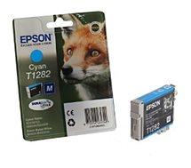 Cartouche d'encre Epson  T1282 Cyan série Renard