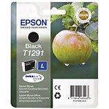 Cartouche d'encre Epson  T1291 Noire série Pomme