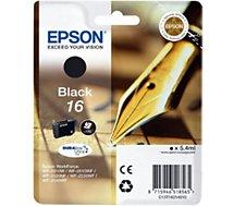 Cartouche d'encre Epson  T1621 Noire Série Stylo Plume