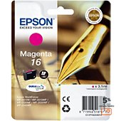 Cartouche d'encre Epson T1623 Magenta Série Stylo Plume