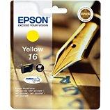 Cartouche d'encre Epson  T1624 Jaune Série Stylo Plume