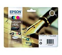Cartouche d'encre Epson  T1636 XL 4 couleurs Série Stylo Plume