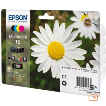 Epson T1806 (N/C/M/J)  Série Paquerette